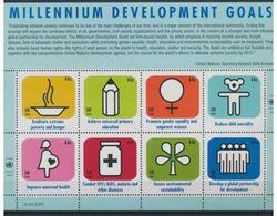 ONU New York Nobel Red Cross Croix Rouge MNH - Prix Nobel