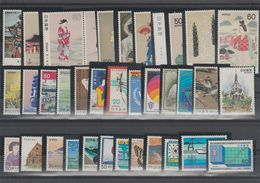 JAPON /JAPAN  2 Lots  Between  1980 And 1981 **MNH  Réf  526 T - Collections, Lots & Series