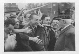 Philippe PETAIN - MARECHAL DE FRANCE CARTE PHOTO Format (6,5 X 9 Cm). - Guerra 1939-45