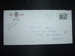 LETTRE Pour La FRANCE TP Sutjeska 10,00 OBL.MEC.6 VII 1981 DUBROVNIK + HOTEL LIBERTAS - Storia Postale