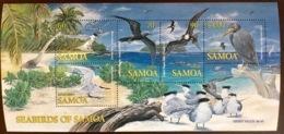 Samoa 2004 Sea Birds Minisheet MNH - Birds