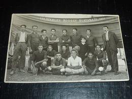 LES DIABLES ROUGES BESSANAIS 1931 EQUIPE DE FOOTBALL - CARTE PHOTO - 34 HERAULT (CN) - Sonstige Gemeinden