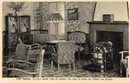 CPA BELGIQUE DURBUY - 3048. Un Coin Du Salon De L'Hôtel Des Roches - La Plus Petite Ville Du Monde - Carte Brillante - Durbuy