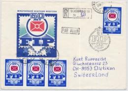 Flugpostbrief Aus Russland / USSR / CCCP Gelaufen Nach Dietikon In Die Schweiz - 1923-1991 URSS