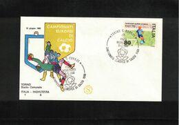 Italia / Italy 1980 European Football Championship In Italy Football Match Italy - England - Europei Di Calcio (UEFA)