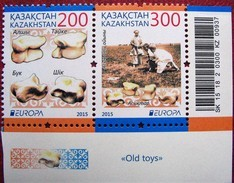 Kazakhstan  2015  EUROPA - CEPT   Old Toys     2 V  MNH - 2015