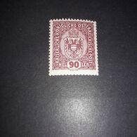 """FB1858 AUSTRIA IMPERO 1916 EFFIGE E CORONA 90 H. """"X"""" - Unused Stamps"""