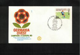 Italia / Italy 1980 European Football Championship In Italy Germany Europan Champion - UEFA European Championship