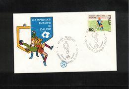 Italia / Italy 1980 European Football Championship In Italy FDC - UEFA European Championship