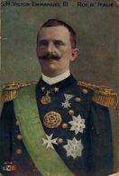 S.M. Victor Emmanuel III - Roi D' Italie (Illustration). WWI WWICOLLECTION - War 1914-18