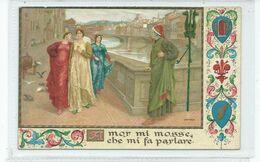 Italy Postcard Florenve. Artist Sborgi Florece Firenze  Unused - Andere Zeichner