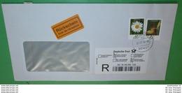 BUND BRD R- Brief Registered Cover - Rückschein - 90451 Nürnberg 61 (35692) - BRD