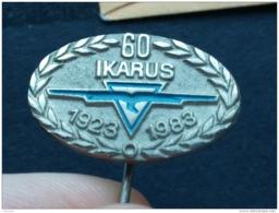 Badge Z-21-2 - TRUCK, CAMION TRANSPORT, IKARUS ZEMUN, SERBIA - Transport