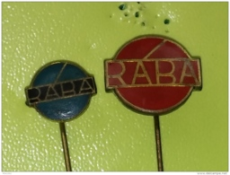 Badge Z-21-2 - TRUCK, CAMION TRANSPORT, RABA - 2 PINS - Transport