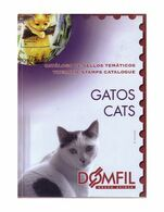 Catalogue De Timbres Poste Domfil CHATS Cats Stamps 229 Pag PDF   LIVRAISON GRATUITE FREE SHIPPING - Thema's