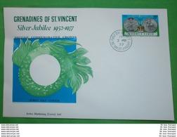 St. VINCENT GRENADINEN - FDC - Brief Letter Lettre 信 Lettera Carta пи�?ьмо Brev 手紙 จดหมาย Cover Envelope (2 Foto)(33796) - St.Vincent E Grenadine