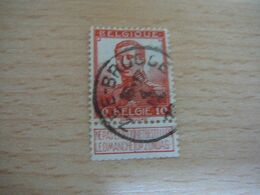 (22.07) BELGIE 1912 Nr 111 Afstempeling ZEE-BRUGGE - 1912 Pellens