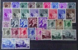 BELGIE  1936 Nr. 438 - 445 / 446 / 447 - 454 / 455 /  456 - 57 B / 458 - 465 / 466 - 70  Scharnier *    CW 55,00 - Belgium