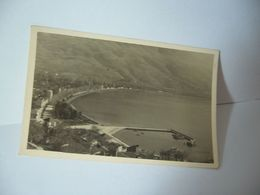 LE LAC D'OKRIDA Ohrid Охрид MACÉDOINE DU NORD CPA PHOTO PAPIER FIN - Macédoine