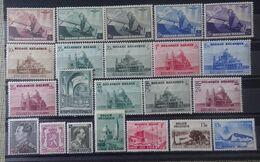 BELGIE  1938   Van Nr. 466  Tot  487   Zie Foto     Scharnier *    CW 50,50 - Belgium