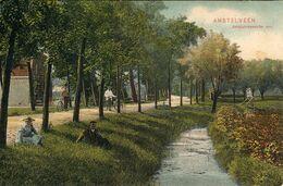 Amstelveen, Amstelveensche Weg, 1908, Fietsers, Cyclists - Amstelveen