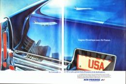 "PUB  ""  AIR FRANCE ""  1977  ( 4 ) - Commercial Aviation"
