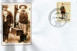 Le Vendeur De Bibelots  /  El Vendedor De Baratijas . Métiers Anciens. Lettre Uruguay - Uruguay