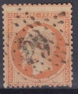 FRANCE : EMPIRE 40c ORANGE N° 23 OBLITERATION ETOILE DE PARIS N° 29 - 1862 Napoléon III