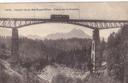 Suisse - Chemin De Fer Bex-Gryon-Villars - Viaduc Sur La Gryonne - VD Vaud