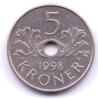 NORGE 1998: 5 Kroner, KM 463 - Norwegen