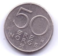 NORGE 1987: 50 Öre, KM 418 - Norwegen