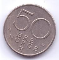 NORGE 1976: 50 Öre, KM 418 - Norwegen