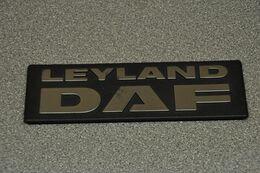 DAF Trucks Eindhoven DAF Leyland Logo - Camion