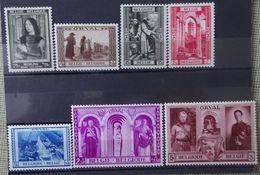 BELGIE  1939     Nr. 512 /  513 - 518     Scharnier *    CW 33,00 - Belgium