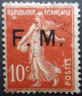 FRANCE Franchise Militaire Type Semeuse N°5 Oblitéré - 1906-38 Sower - Cameo