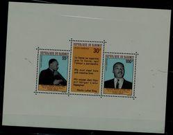 DAHOMEY 1968 DEATH BY MARTIN LUTHER KING BLOCK MI No BLOCK 14 MNH VF !! - Martin Luther King