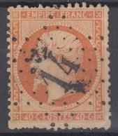 FRANCE : EMPIRE 40c ORANGE N° 23 OBLITERATION ETOILE DE PARIS N° 14 - 1862 Napoleon III