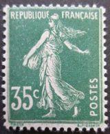 FRANCE Semeuse N°361 Neuf * - 1906-38 Sower - Cameo