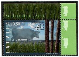 Latvia 2015 . Green Week In Berlin. Cow. 1v: 0.50.  Michel # 934 - Lettonia