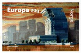 Norway - 2020 - Munch Museum - Mint Self-adhesive Stamp - Neufs
