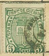 SPAIN/ESPAGNE-REIGN ALPHONSO XII,IMPUESTO DE GUERRA-USED STAMP - Impuestos De Guerra