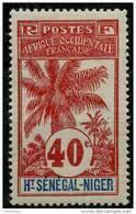 Haut Senegal Et Niger (1906) N 11 * (charniere) - Neufs