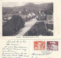 Sissach - Rheinfelder Strasse Mit Fluh             Ca. 1930 - BL Basel-Land