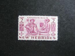 Nouvelles-Hébrides: TB N° 164, Neuf X. - English Legend