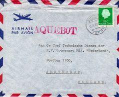 6 IV 67    PAQUEBOT  SHIMISU JAPAN   Naar Amsterdam - Poststempels/ Marcofilie