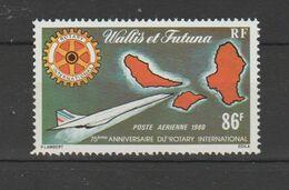 Wallis Et Futuna 1980  P A  N° 101  Neuf X X Avion Concorde - Aéreo