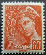 FRANCE Type Mercure N°415 Neuf ** - 1938-42 Mercurio