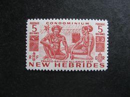 Nouvelles-Hébrides: TB N° 165, Neuf X. - English Legend