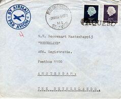 3 MAY 66   PORT SWETTENHAN  SELANGOR  PAQUEBOT  Naar Amsterdam - Poststempel