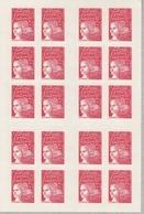 3085a C4 TVP LUQUET Type II X 20 - Booklets